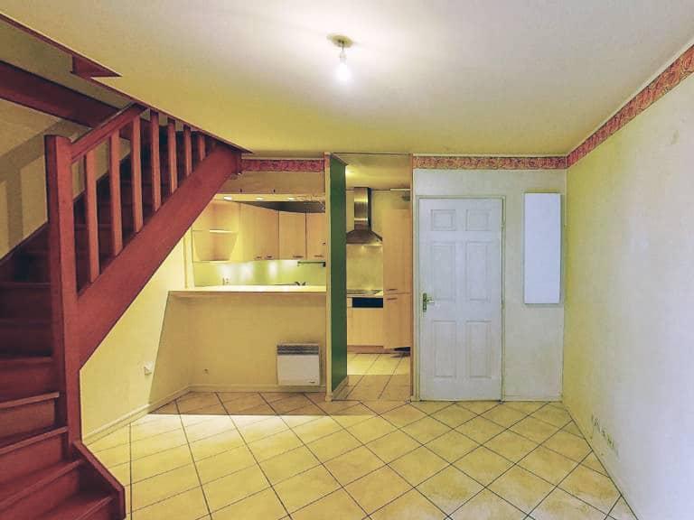 location appartement alfortville: appartement 2 pièces 40 m² en duplex, rue simone de beauvoir