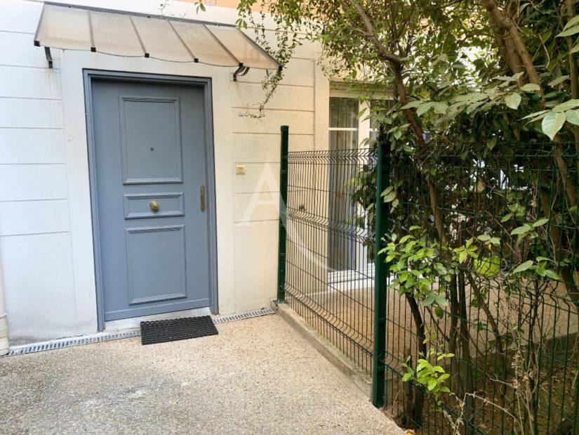 site vente appartement: en duplex 3 pièces 57 m², aperçu du jardin privatif