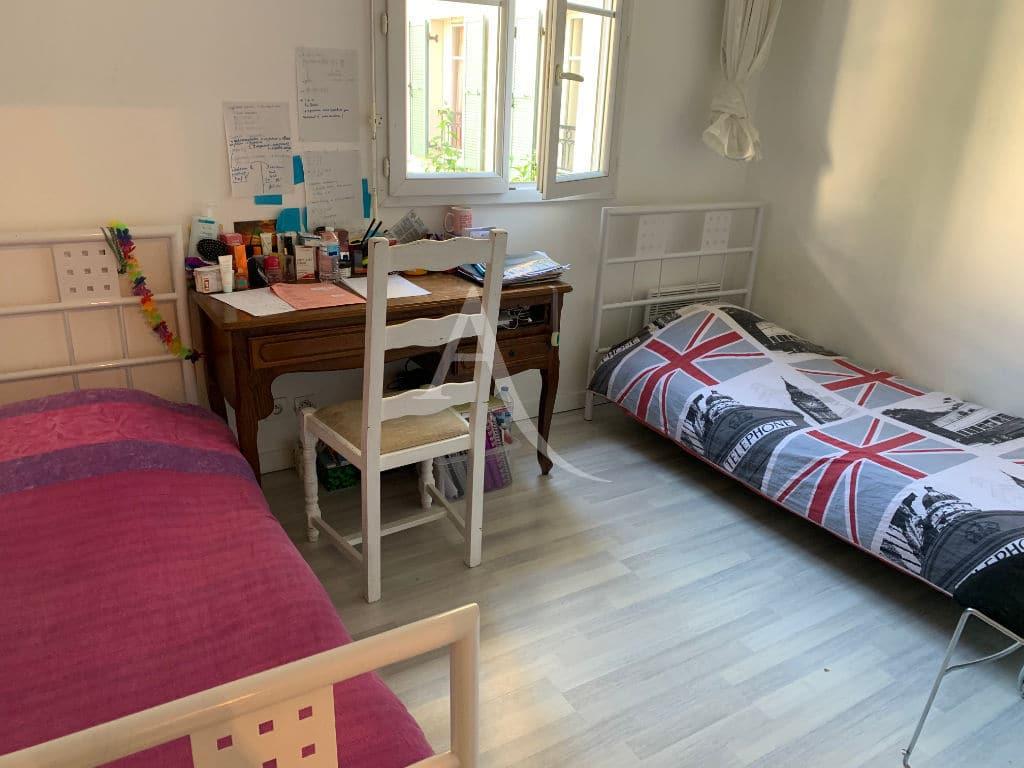 vente direct immo: appartement 3 pièces 57 m² en duplex, seconde chambre