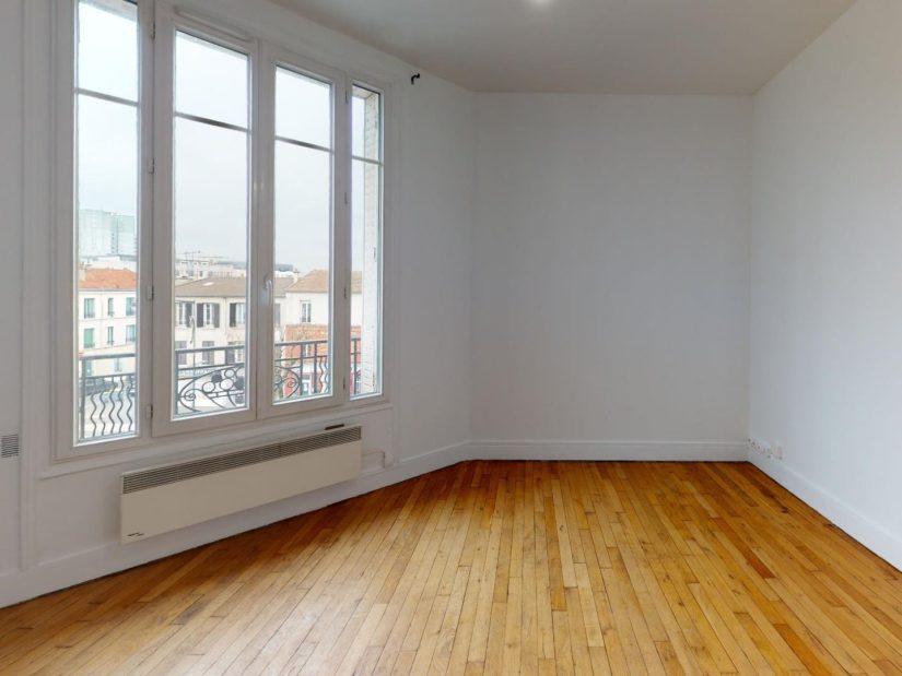 louer appartement à maisons alfort: 3 pièces 51 m², séjour avec parquet au sol