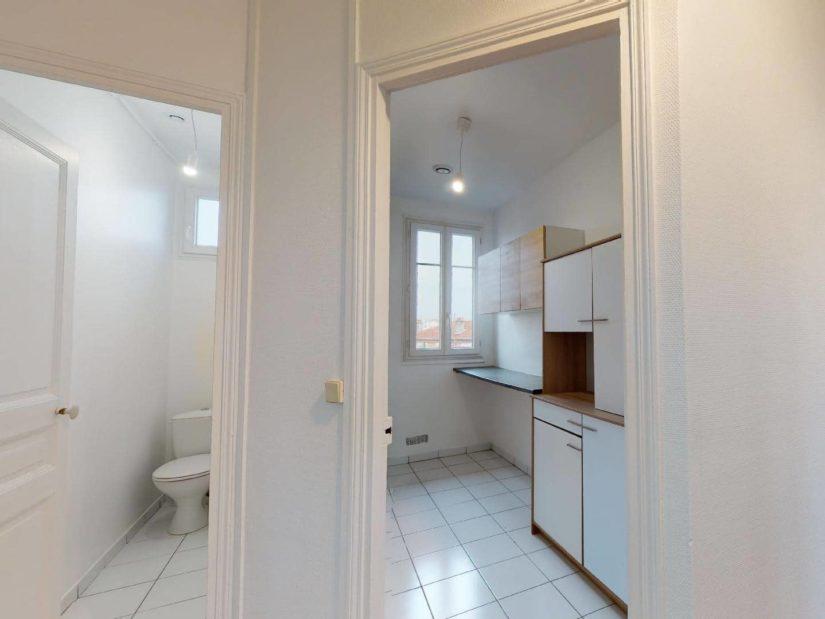 louer appartement à maisons-alfort: 3 pièces 51 m², wc séparé de la salle d'eau