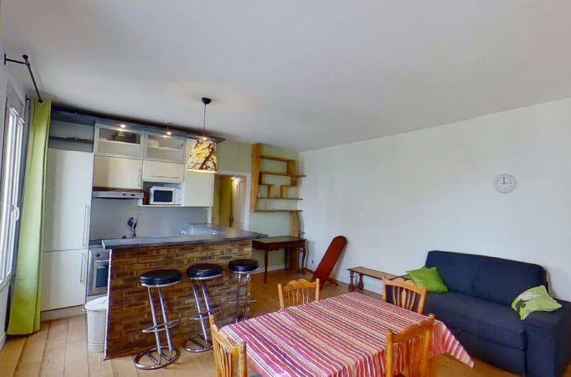 appartement alfortville location: 2 pièces 45 m² meublé, sans vis à vis, centre ville