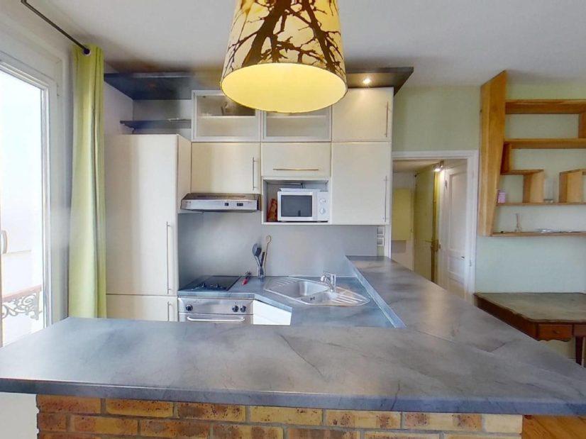 l adresse alfortville: 2 pièces 45 m², cuisine ouverte entièrement aménagée et équipée