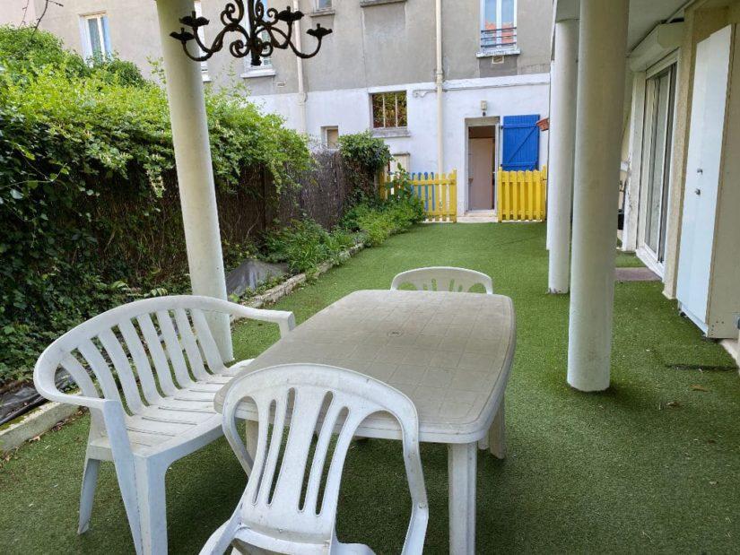 valerie immobilier alfortville: appartement 7 pièces 128 m², coin (2°) terrasse aménagée sur 12 m²