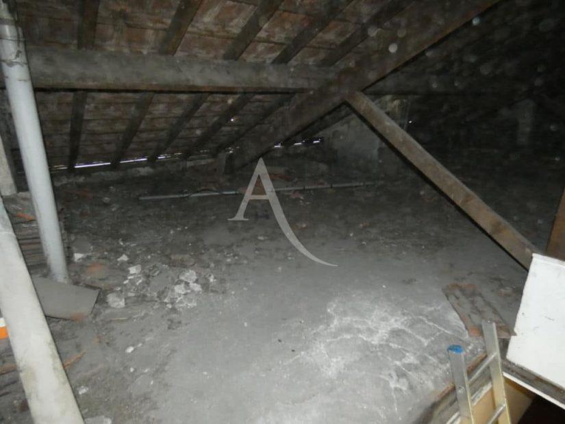 immobilier alfortville: vente studio 24 m² + comble 60 m² à aménager, comble perdu