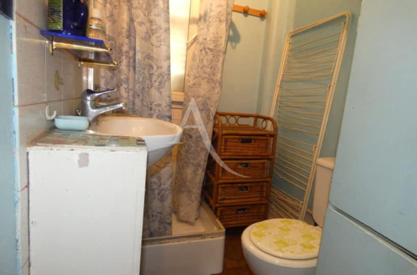 direct immobilier alfortville: vente studio 24 m² + comble 60 m² à aménager, salle d'eau avec wc