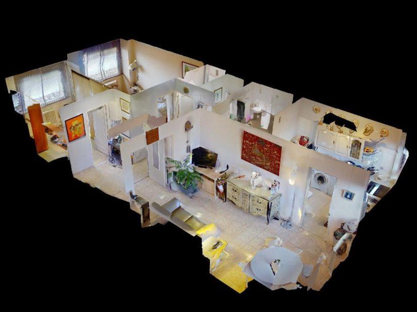 vente appartement maisons-alfort: 3 pièces 59 m², plan détaillé de l'appartement