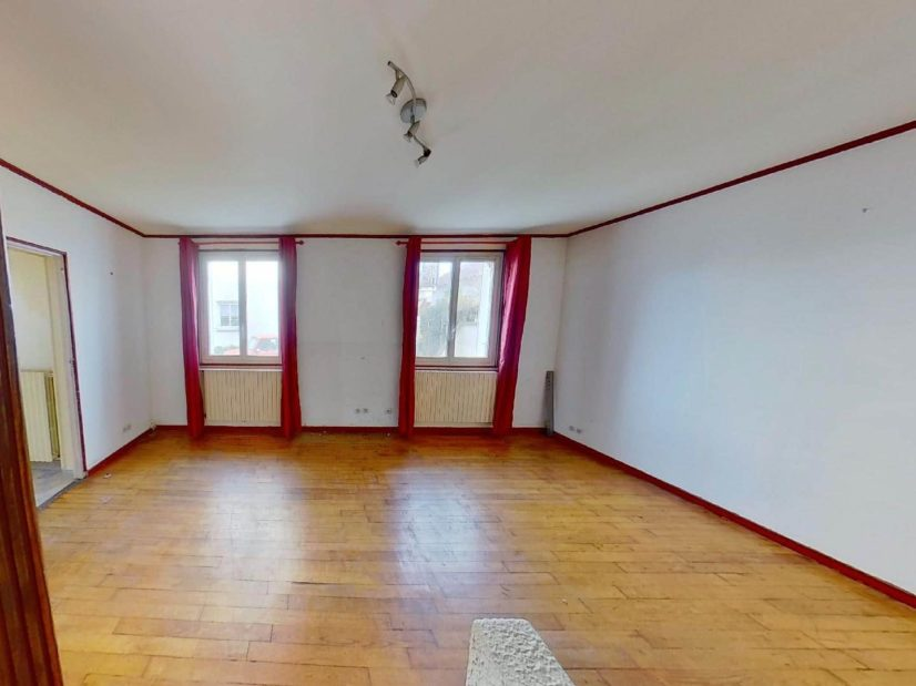 agence immobilière alfortville: maison 3 pièces 72 m², cour extérieur de 20 m², au pied du rer d