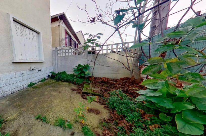 immo 94: maison 3 pièces 72 m², cour extérieur de 20 m²