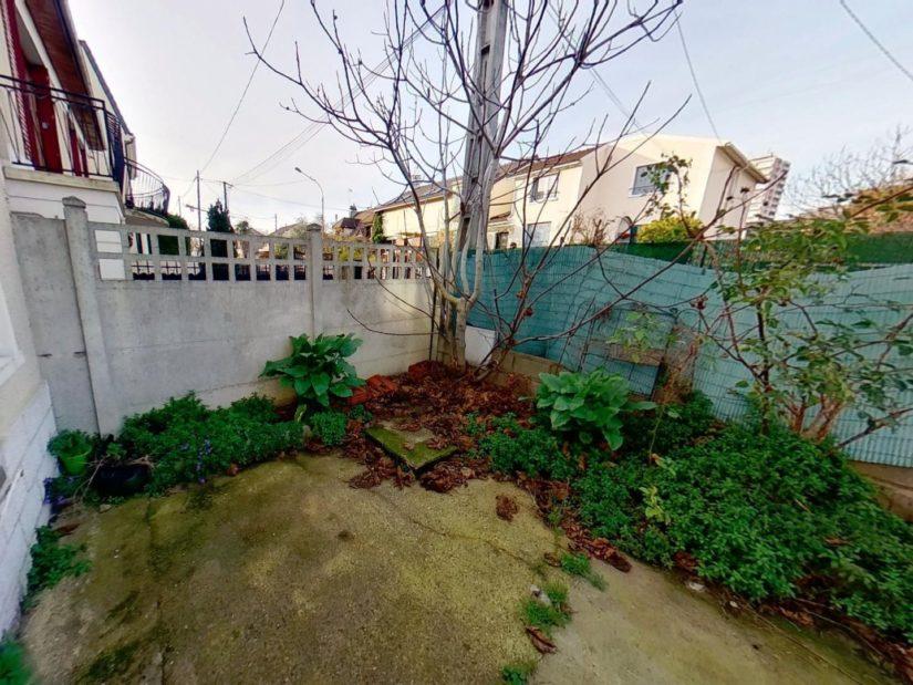 se loger alfortville: maison 3 pièces 72 m², cour de 20 m² extérieur