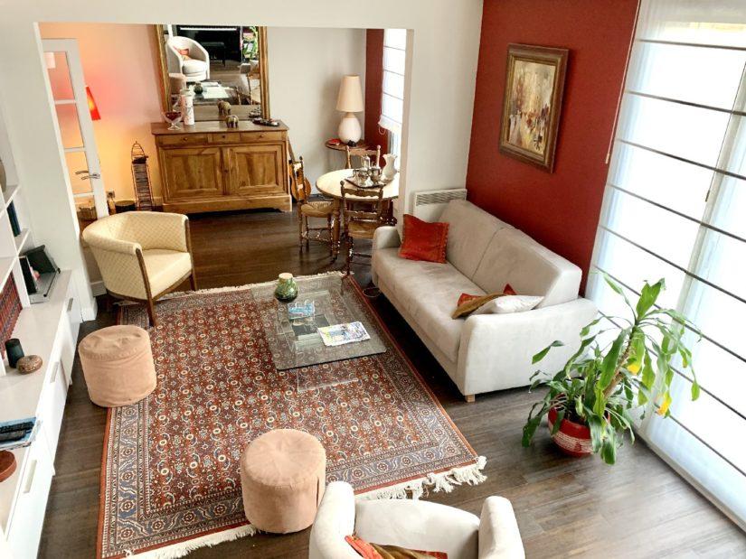 l adresse immobilier 94: appartement 5 pièces 106 m², séjour lumineux, parquet au sol