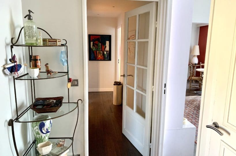 agence immobilière saint maurice: 5 pièces 106 m², hall d'entrée, bon état général