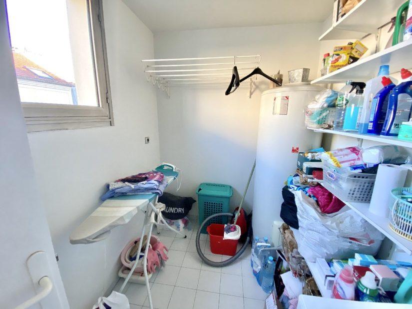 immo valerie: appartement 5 pièces 106 m², grande pièce pour buanderie