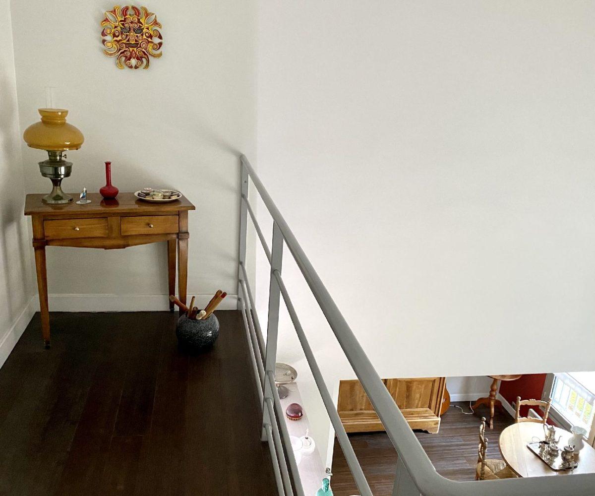 immo valerie: appartement 5 pièces 106 m² duplex , hall de l'étage