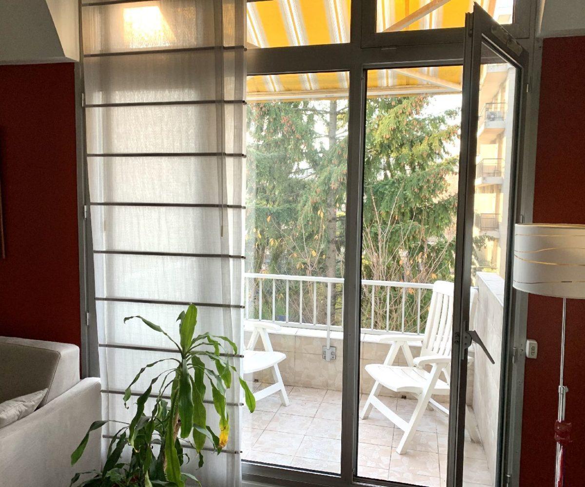 agence immobilière val de marne: duplex 5 pièces, large balcon, vue sur jardin plein sud
