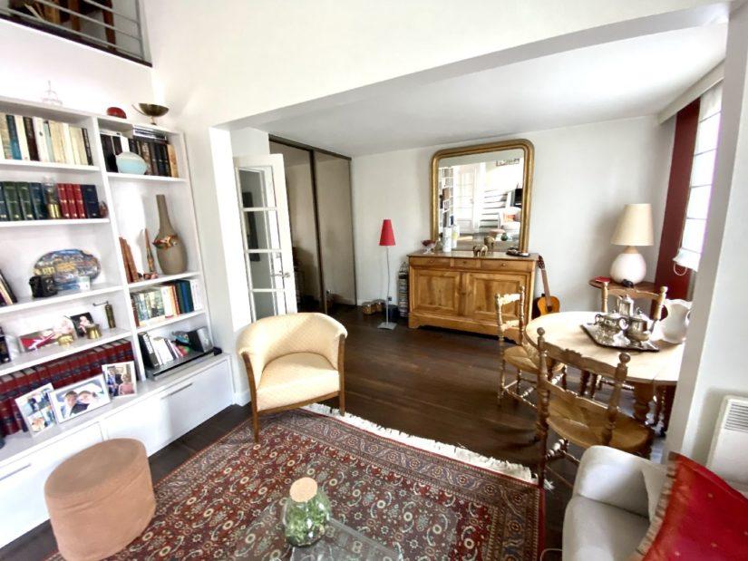 agence immo 94: appartement 5 pièces 106 m², séjour double cathédrale (29 m²)