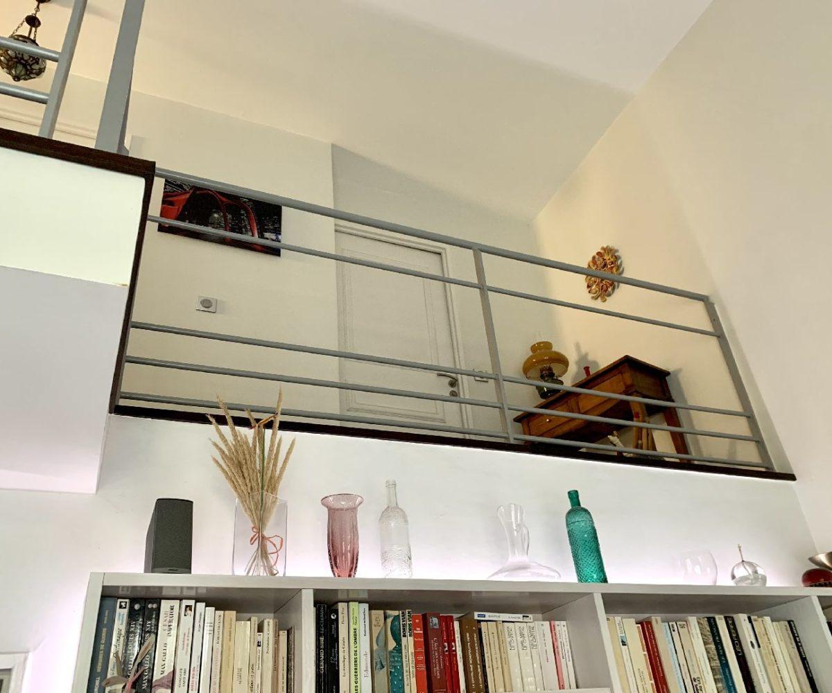 vente direct immo: appartement 5 pièces 106 m², vue de la pièce du bas depuis le séjour