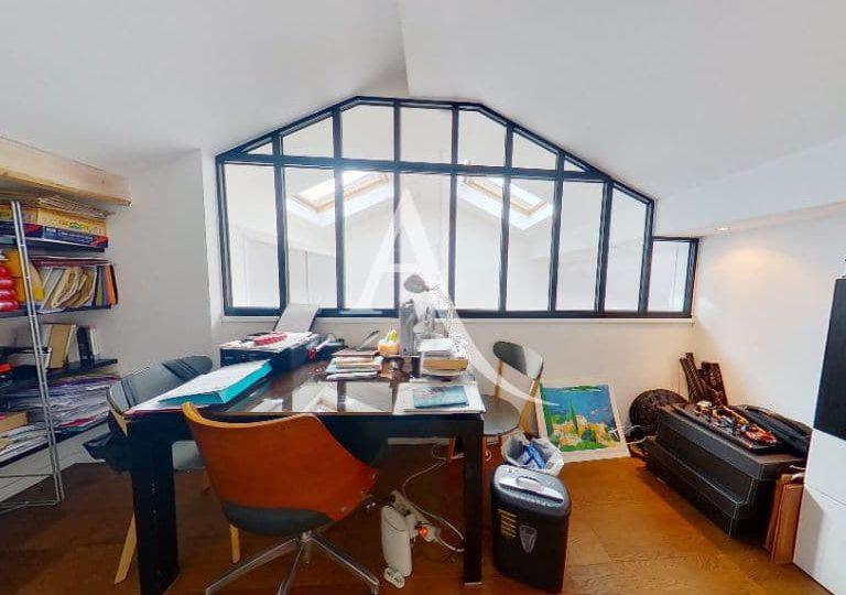 immo alfortville: appartement 5 pièces 125 m², bureau au 2° étage
