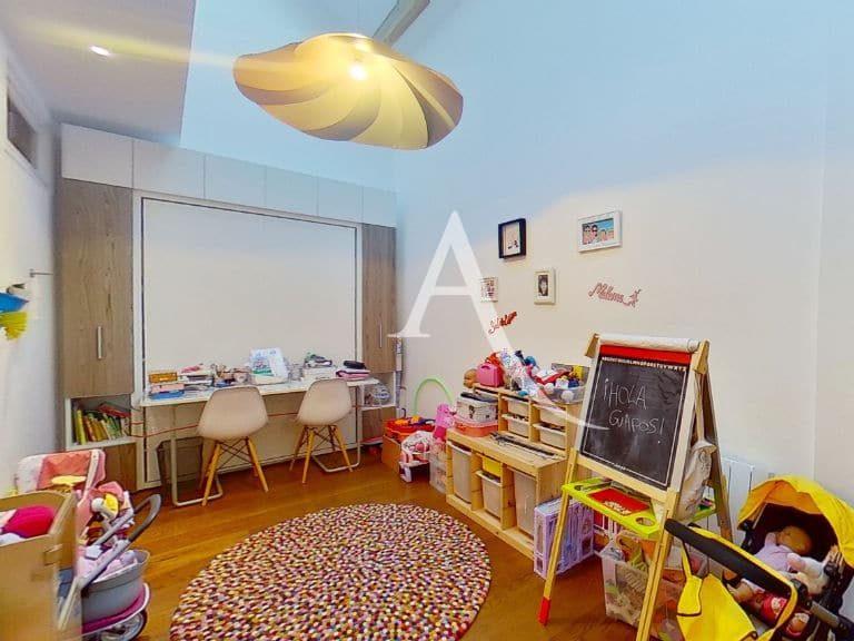 vente direct immo: appartement 5 pièces 125 m², 3° chambre au rdc