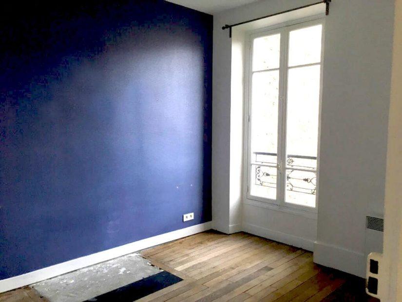 louer appartement alfortville: 3 pièces 52 m², première chambre avec parquet