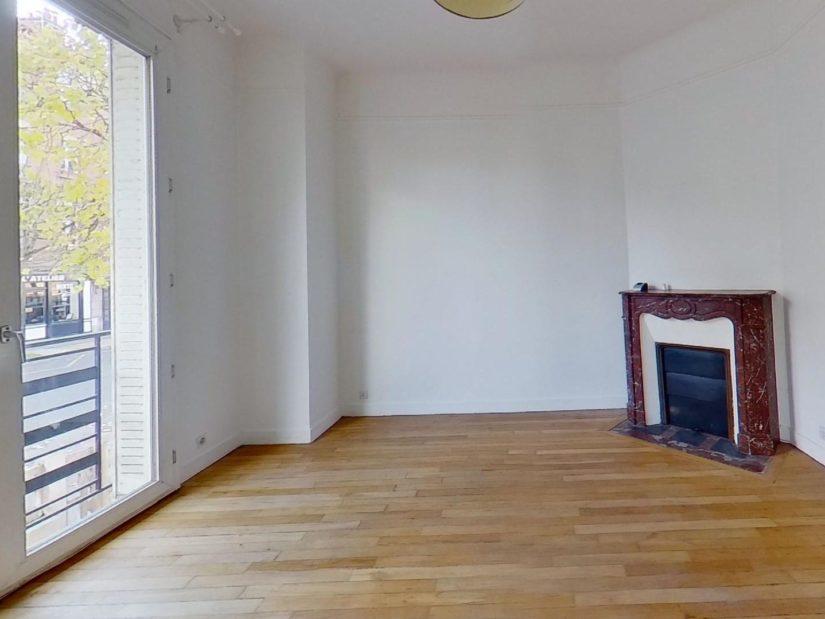 agence immobilière maisons-alfort: maison 4 pièces 90 m², double séjour lumineux avec cheminée et parquet