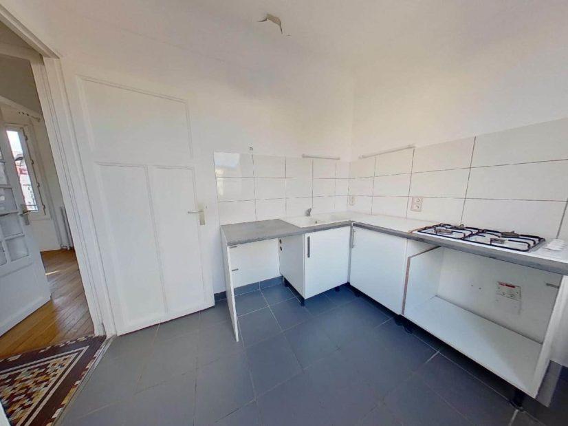 agence immobilière maison alfort: maison 4 pièces 90 m², grande cuisine séparée