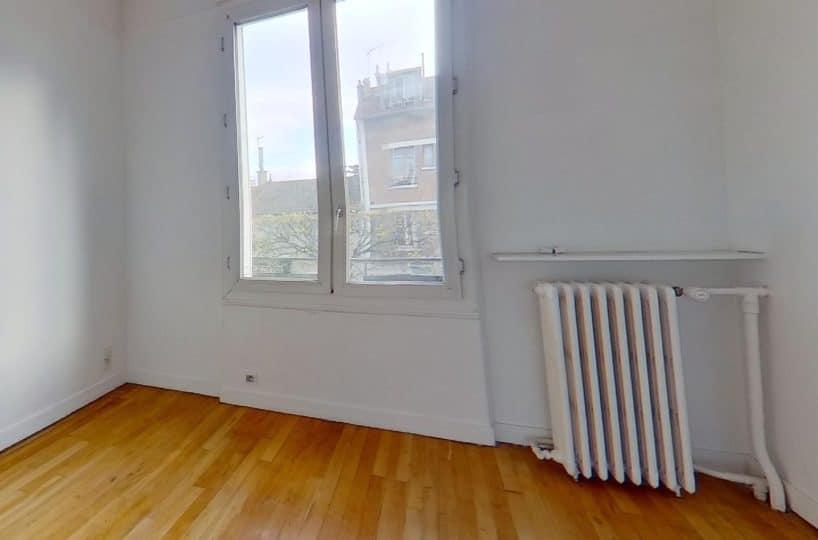 immobilier maison alfort: maison 4 pièces 90 m², première chambre lumineuse