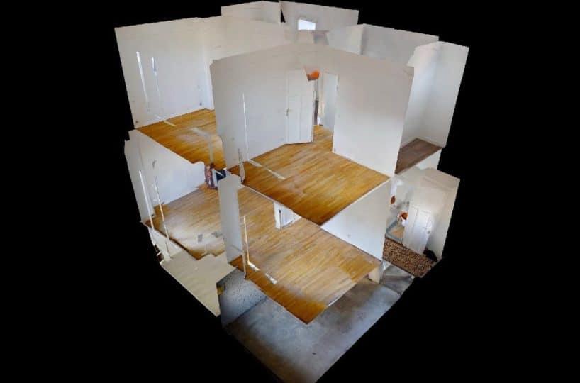 agence immo maison-alfort: maison 4 pièces 90 m², vue 3d de la maison
