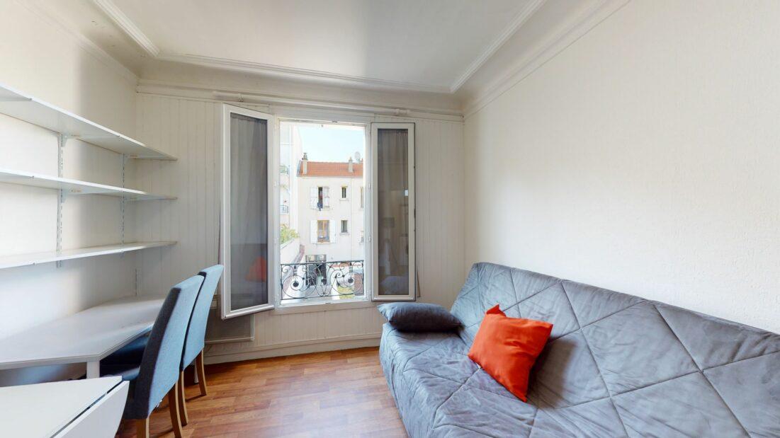 studio meublé alfortville: 17 m², rue de seine , à 10 minutes du métro ecole vétérinaire