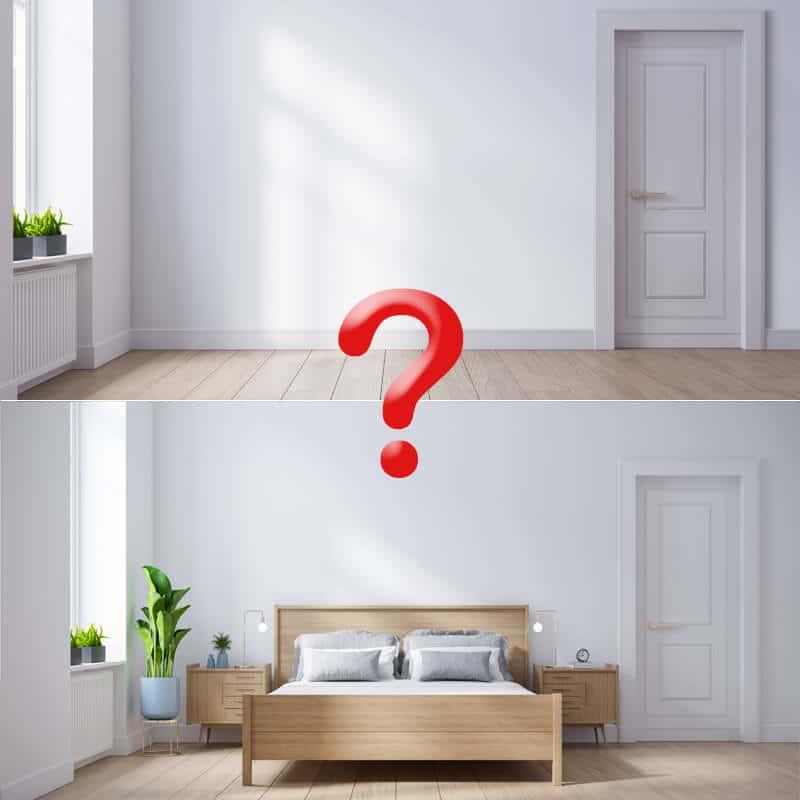 Meublé ou vide ?