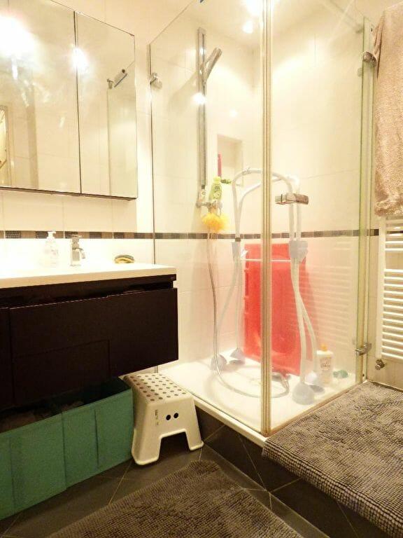 agence immobilière 94: appartement 3 pièces 66 m², salle d'eau avec douche et rangements