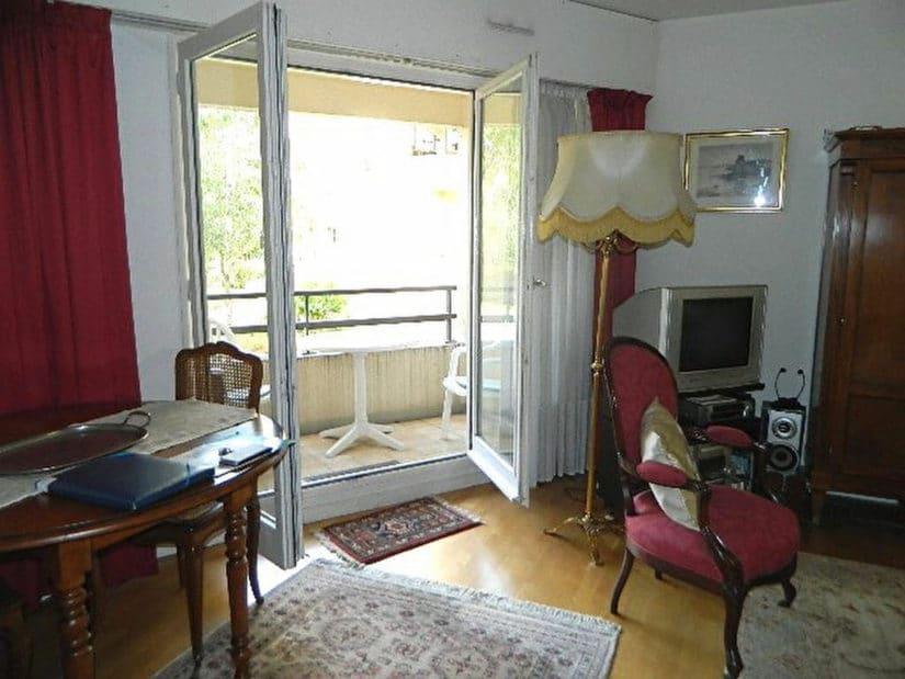vente appartement maison alfort: 2 pièces 48 m², séjour avec un blacon, très jolie vue arborisée