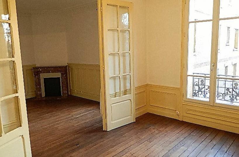 agence immobiliere maisons-alfort: appartement 4 pièces 72 m², double séjour avec cheminée proche centre ville et rer d