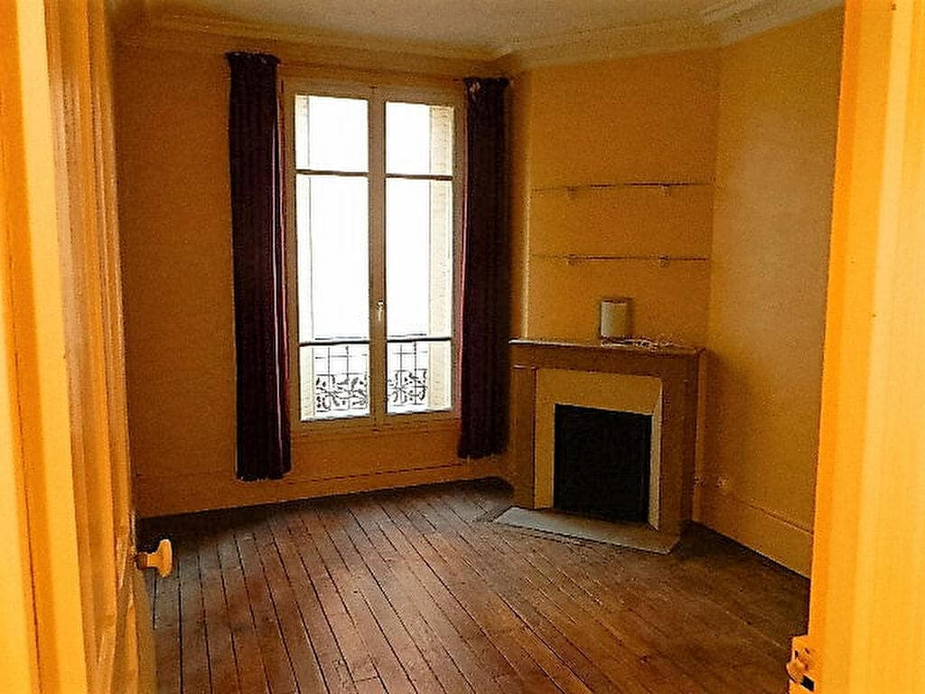 location appartement maisons alfort: 4 pièces, seconde chambre avec une cheminée, maisons-alfort