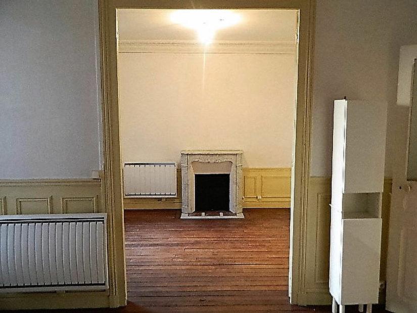 appartement a louer maison alfort: 4 pièces 72 m², deuxième cheminée dans le double séjour