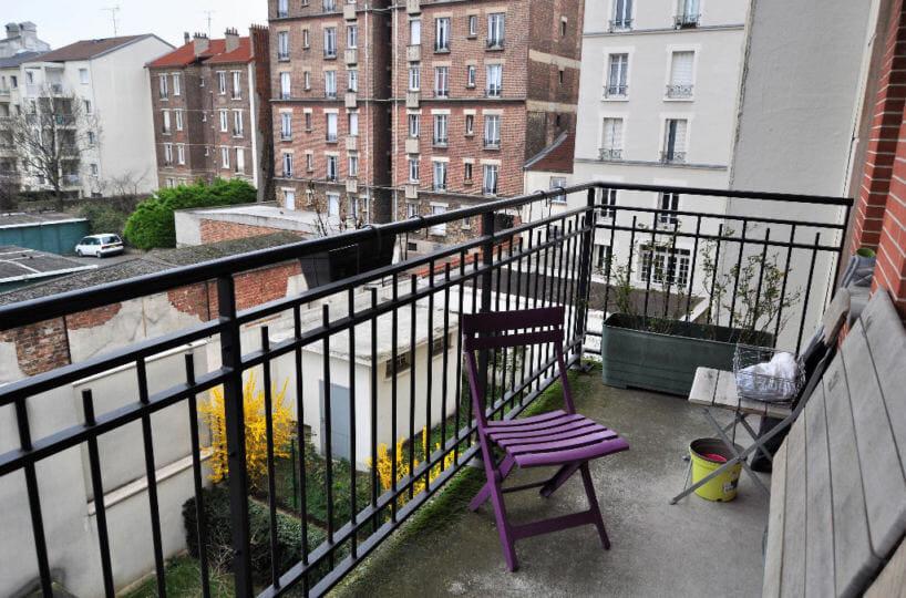 achat appartement maisons alfort: 4 pièces 77 m², terrasse avec vue sur jardin