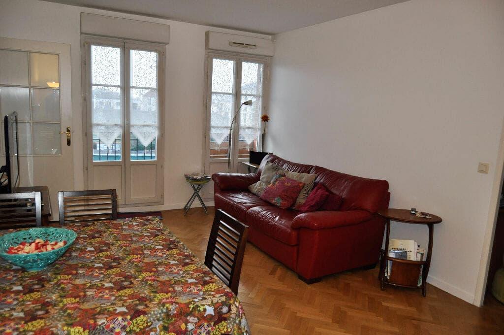 maison alfort appartement a vendre: 4 pièces 77 m², séjour avec vue donnant sur jardin