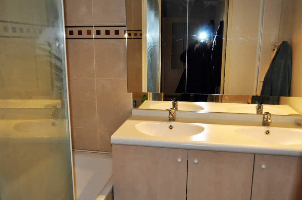 vendre appartement maisons-alfort: 4 pièces 77 m²,  deuxième salle de bain avec baignoir et double vasque