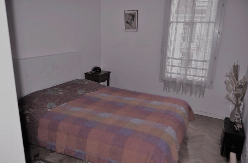 site vente appartement: 4 pièces 77 m², deuxième chambre avec fenêtre en double vitrage