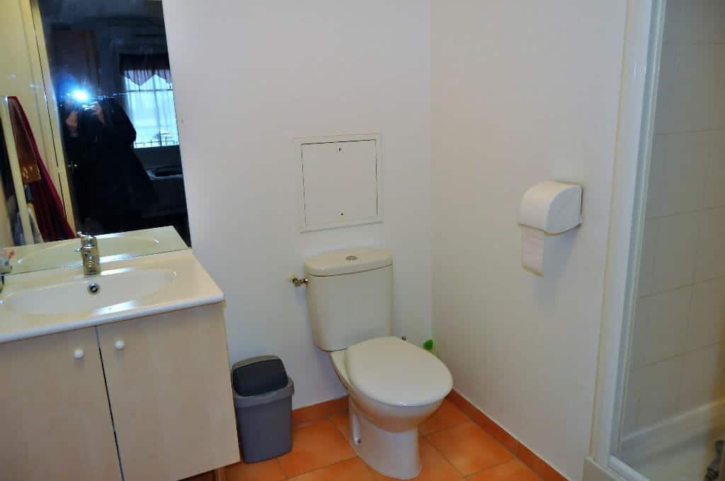 appartement à vendre maison alfort, 4 pièces 77m², salle de bain de la suite parenale avec douche et wc