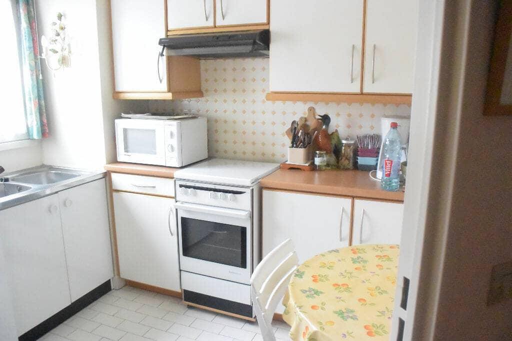 appartement à vendre à maisons-alfort: 2 pièces 50 m², belle espace cuisine, carrelage blanc au sol