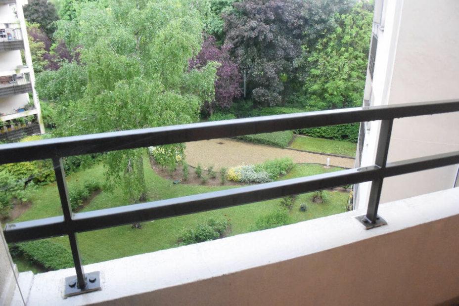 appartement à vendre à maisons alfort: 2 pièces 50 m², 2 balcons dont un avec belle vue sur le parc