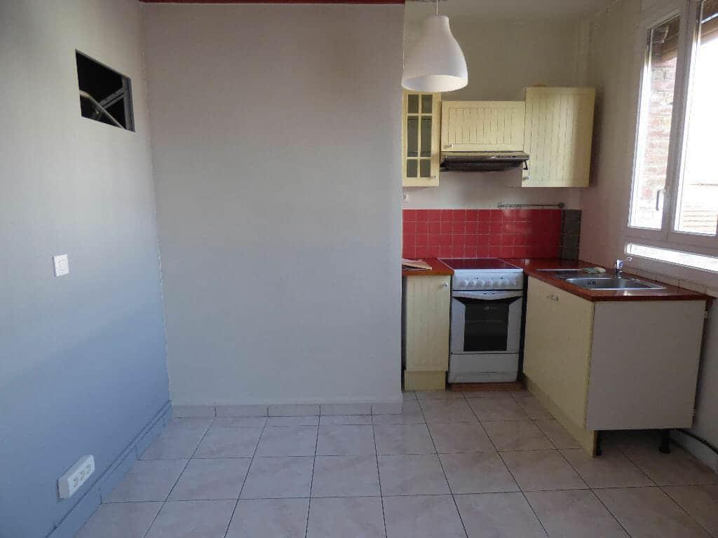 appartement a louer alfortville: 2 pièces 40 m², cuisine ouverte aménagée et équipée