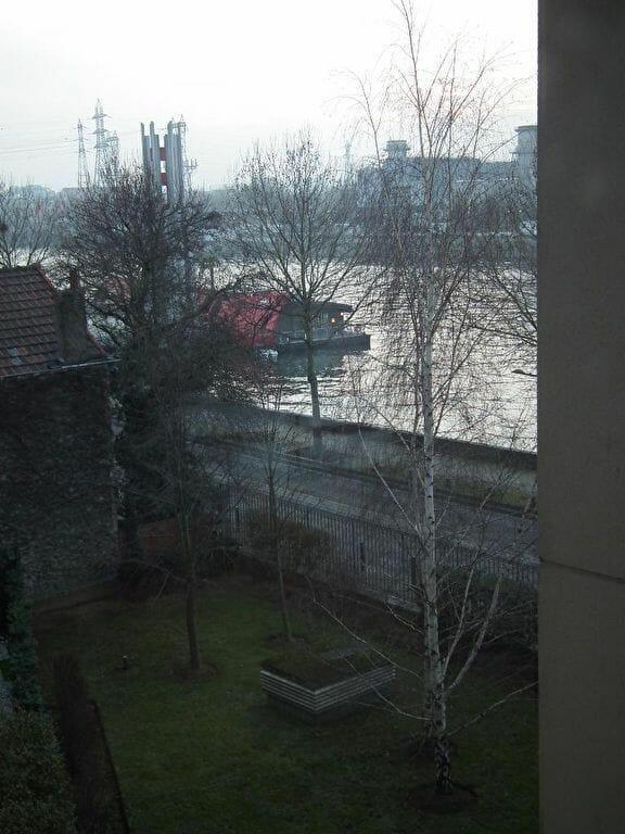 appartement a louer alfortville: 2 pièces 43 m², vue sur jardin et sur la seine