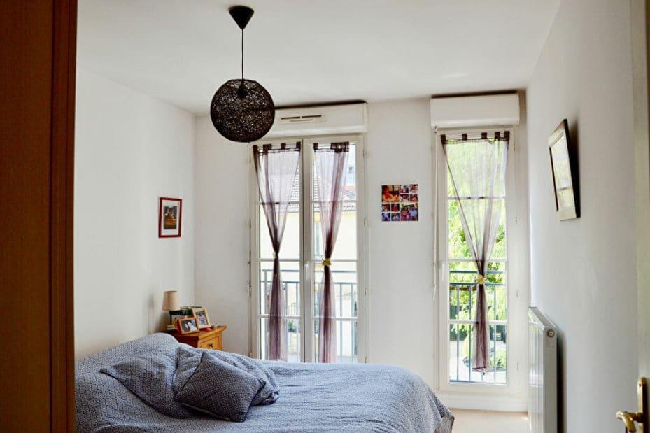 maison alfort appartement, 3 pièces 62 m² à vendre, chambre parantale avec volets roulants