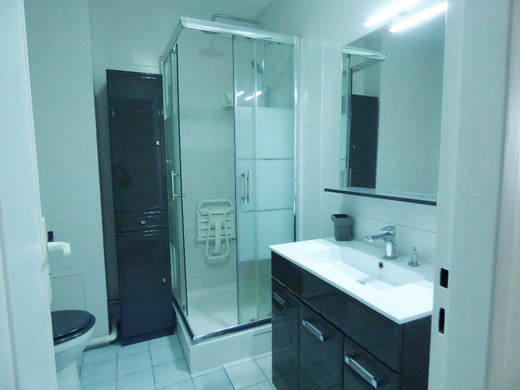 location appartement alfortville: studio 27 m², salle d'eau avec douche et wc