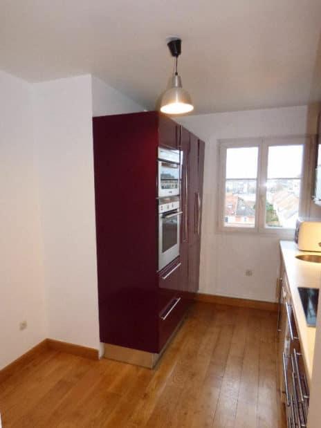 immo 94: appartement 5 pièces 105 m², belle cuisine aménagée et équipée