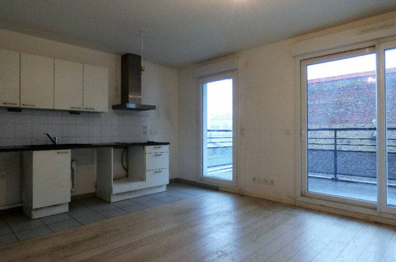 louer appartement alfortville: 2 pièces 45 m², grand séjour ouvert sur cuisine aménagée