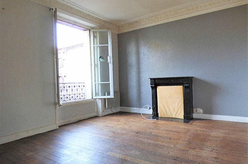 logement maisons alfort: 3 pièces 47 m² à louer, première chambre avec parquet au sol