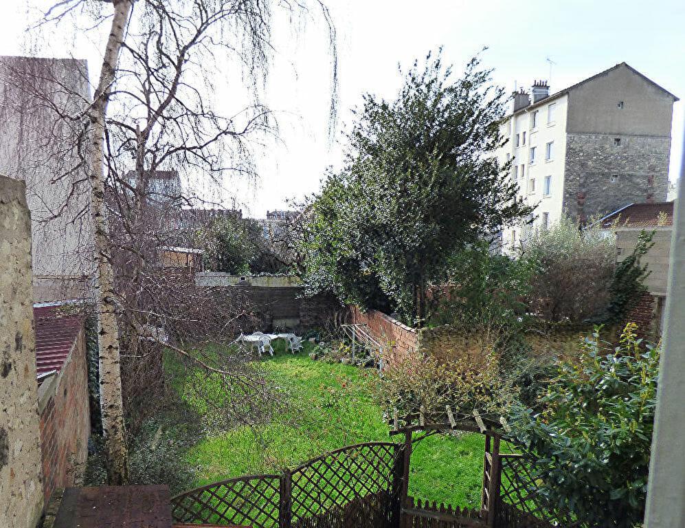 location appartement maisons alfort: 3 pièces 47 m², usage collectif du jardin de la copropriété
